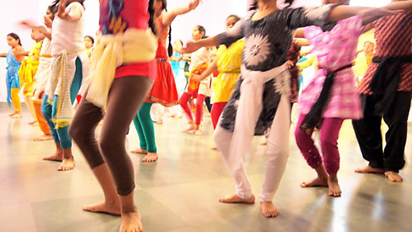 Don't think we're just doing dancing! You can change your life in a dance class